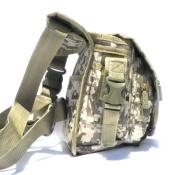 East West U.S.A RTC519 Tactical Thigh Pack Waist Belt Drop Leg Utility Bag, Navy Camo