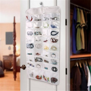 VWH 72 Pocket Hanging Jewellery Storage Organiser with Hook for Home and Travel