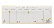Set of 4 Lovely Schedule Book Cute Weekly Planner Plan Notepads