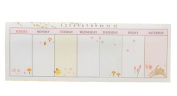 Set of 4 Lovely Schedule Book Weekly Planner Plan Notepads