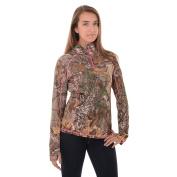 Realtree Womens 1/4 Zip Performance Shirt