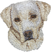 Labrador Retriever, Embroidery, patch with the image of a dog