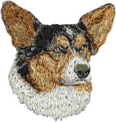 Cardigan Welsh Corgi, Embroidery, patch with the image of a dog