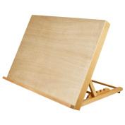 U.S. Art Supply Large 46cm - 1.3cm Wide x 36cm - 0.3cm (A3) Tall Artist Adjustable Wood Drawing Board