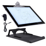 36cm LED Artist Drawing Stencil Board Tattoo Tracing Table Light Pad with Cliper