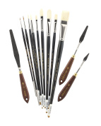 Alan Flattmann AF001 Premium Brushes & Palette Knives