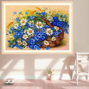 Doober 5D Diamond Embroidery Painting Daisy Flower Cross Stitch DIY Home Decor Crafts
