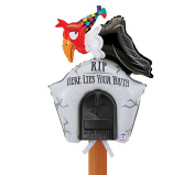 Mailbox Birthday Balloon - RIP Here Lies Your Youth Buzzard and Tombstone