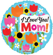 Happy Mother's DayLove Mom 46cm Mylar Balloon Bulk