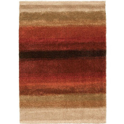 Layers Lava 0.3m x 0.6m Accent Rug