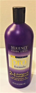 Silkience Salon Series New Advanced Pro Formula 2 in 1 Shampoo and Conditioner Each bottle is 950ml for a total of 1890ml