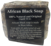 Black Soap Raw African Soap, 100% Organic Pure, 0.5kg.