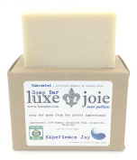 LuxeJoie Soap Bar Unscented Simple Cleanser Certified Organic by Oregon Tilth