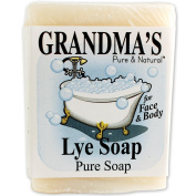 Grandma's Pure & Natural Lye Soap For Dry Skin With No Additives Made In USA