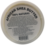 afrikaimports Organic African Shea Butter, 100% natural, White, 470ml