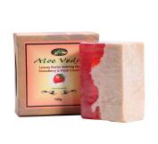 Aloe Veda Luxury Butter Bar - Strawberry & Cream, 125 gm