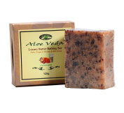 Aloe Veda Luxury Butter Bar - Oats & Honey Soap With Milk, 125 gm