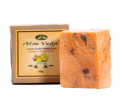 Aloe Veda Luxury Butter Bar - Orange & Ginger, 125 gm