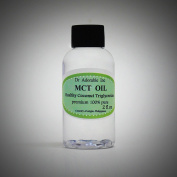 60ml Premium MCT Oil derived from Organic Coconut Oil Pure Medium-Chain Triglyceride