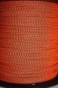 Flo Orange & Black Speckled BCY #24 D Loop Rope Release Material 7.6m
