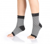 Plantar Fasciitis – Compression Foot Sleeve – Relief From Swelling - Arch Support for Running, Sports & Everyday Use – Improves Blood Circulation –