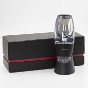 Landano Wine Aerator Decanter – Best Premium Red Wine Pourer & Diffuser with Stand, Velvet Pouch and BONUS ebook