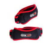 TWO Professional Patella Tendon Strap by Gym Life