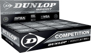Dunlop Racquet Sports Intermediate Players Match Play Competition Squash Balls