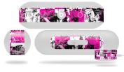 Pink Graffiti Decal Style Skin - fits Beats Pill Plus