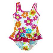 Toddler Baby Girl Swimsuit Kid One Piece Swimwear Bathing Suit 2-8T