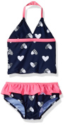 Osh Kosh Girls' Infant Heart Tankini Set