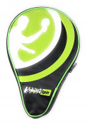 MightySpin Ping Pong Paddle Case with Pocket for Balls, Table Tennis Racket Case