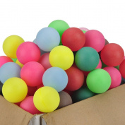 GOGO 40mm Beer Ping Pong Balls / Decoration Balls, Assorted Colours 150 PCS