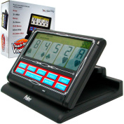 Portable Video Poker Touch-Screen 7 In 1 - Black & White Game