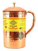 Handmade Pure Copper Hammered Pitcher/Jug 2100 ML Storage Water