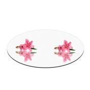 Fab Glass and Mirror 25cm Round Mirror Centrepiece / Plate