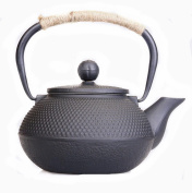 Japanese Cast Iron Pot Small Ding Handless Uncoated To Send The Filter Boiled Tea 0.9L