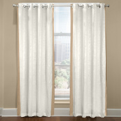 Veratex The Central Park Collection 100% Linen Made in the USA Modern & Elegant Tailored Window Valance, Mineral Blue