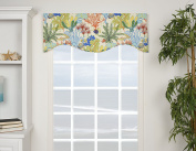 VICTOR MILL Island Breeze Shaped Valance