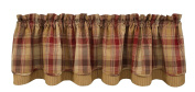 Park Designs Hearthside Lined Layer Valance, 180cm x 41cm