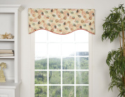 VICTOR MILL Caicos Shaped Valance
