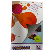 Large Scrapbook - 64 Pages - Mixed Colour Pages (4 Colours), Size 3.9m x 2.5m