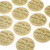 Custom Natural Kraft Paper Wedding Favour Tag Personalised Sticker Envelope Seals