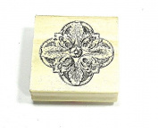 Mosaic - Craft Smart Wood Mounted Rubber Stamps 2016