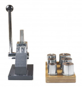 EFK-II Supply Bangle Bracelet Stretcher Enlarger Reducer Mandrel Jewellery Making Tool with 6 Round Dies