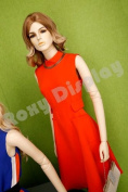 (MZ-ABF4) ROXYDISPLAY™ Female Mannequins, standing pose with straight legs.