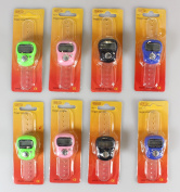 Ogrmar Pack of 8Pcs Case Resettable Lap Counters 5 Digit LCD Electronic Finger Counter Hand Tally