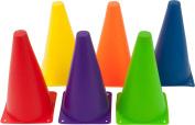 Plastic Cone Sports Training Gear, 23cm