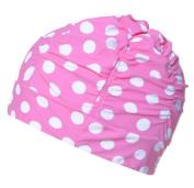 Natuworld SwimCaps Original Lycra Cloth Fabric Pure Colour Swimming Cap Bathing Hats for Adult Men Women - Available in 8 colours
