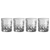 Galway Crystal 35006/4 Ren more D.O.F (Set of 4) Tumblers, Transparent